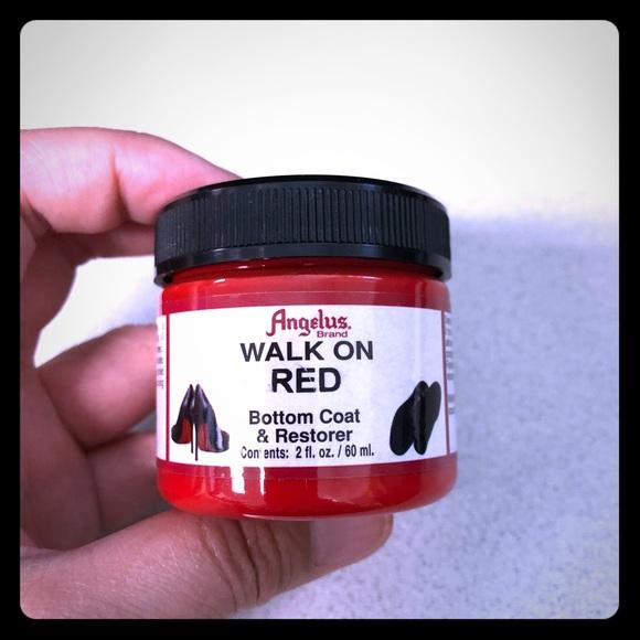 f7adef2ec2d Walk on Red shoe paint restorer